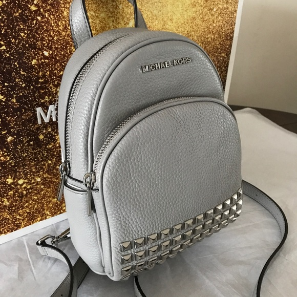6135c9d3e0 Michael Kors Abbey XS Studded Backpack